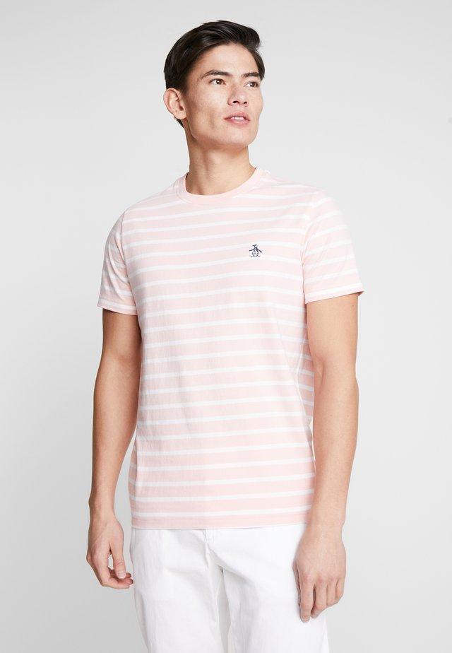 BRETON STRIPE TEE  - Print T-shirt - impatients pink