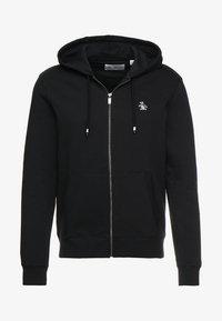 Original Penguin - ZIP THRU HOODED - veste en sweat zippée - true black - 4