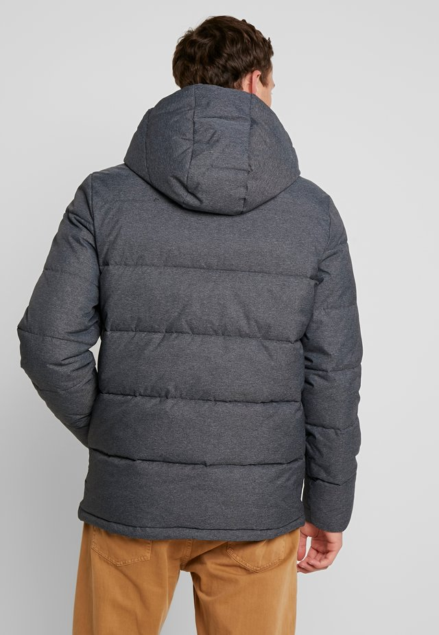 PUFFER JACKET - Lehká bunda - dark charcoal heather