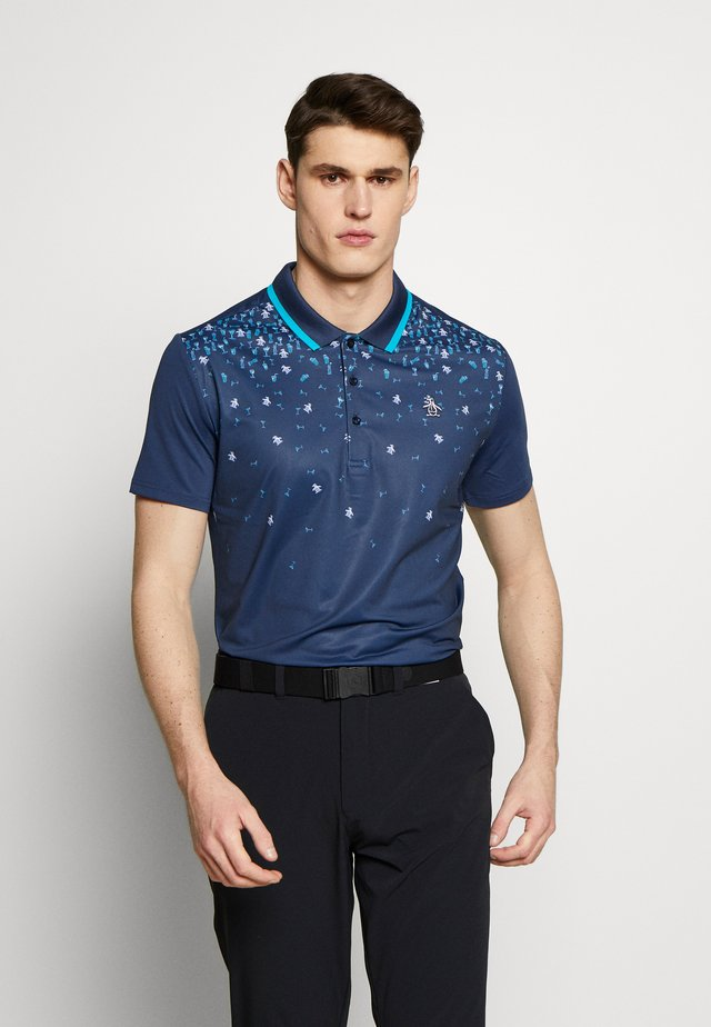 HAPPY HOUR PRINTED - Polo - black iris