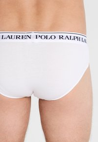 Polo Ralph Lauren - LOW RISE BRIEFS 3 PACK - Slip - white - 2