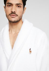 Polo Ralph Lauren - SHAWL COLLAR ROBE - Albornoz - white - 4