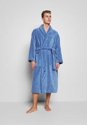 SHAWL COLLAR ROBE - Dressing gown - bermuda blue