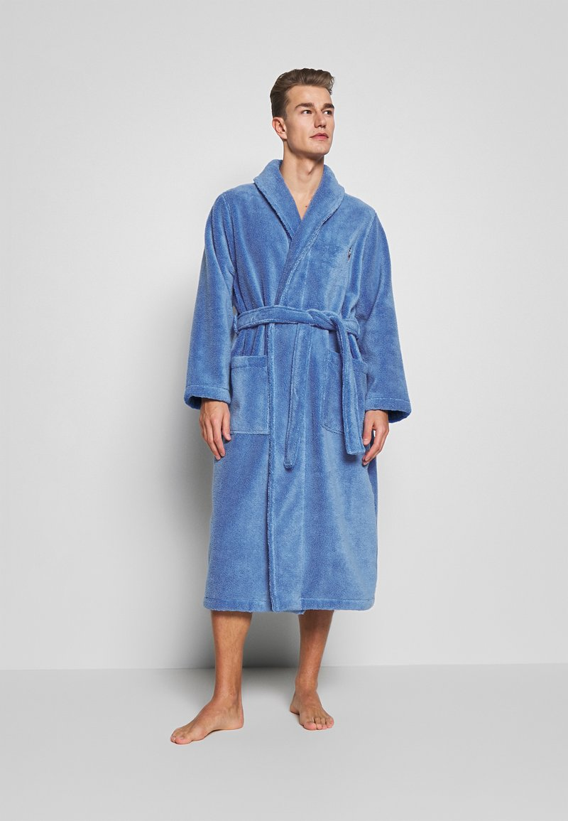 Polo Ralph Lauren - SHAWL COLLAR ROBE - Župan - bermuda blue