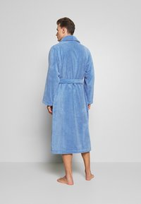 Polo Ralph Lauren - SHAWL COLLAR ROBE - Dressing gown - bermuda blue - 2