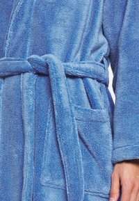 Polo Ralph Lauren - SHAWL COLLAR ROBE - Dressing gown - bermuda blue