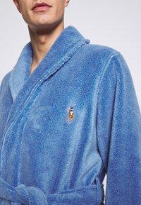Polo Ralph Lauren - SHAWL COLLAR ROBE - Župan - bermuda blue - 5