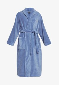 Polo Ralph Lauren - SHAWL COLLAR ROBE - Dressing gown - bermuda blue - 4