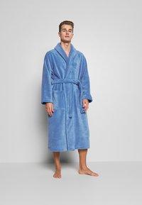 Polo Ralph Lauren - SHAWL COLLAR ROBE - Župan - bermuda blue - 1