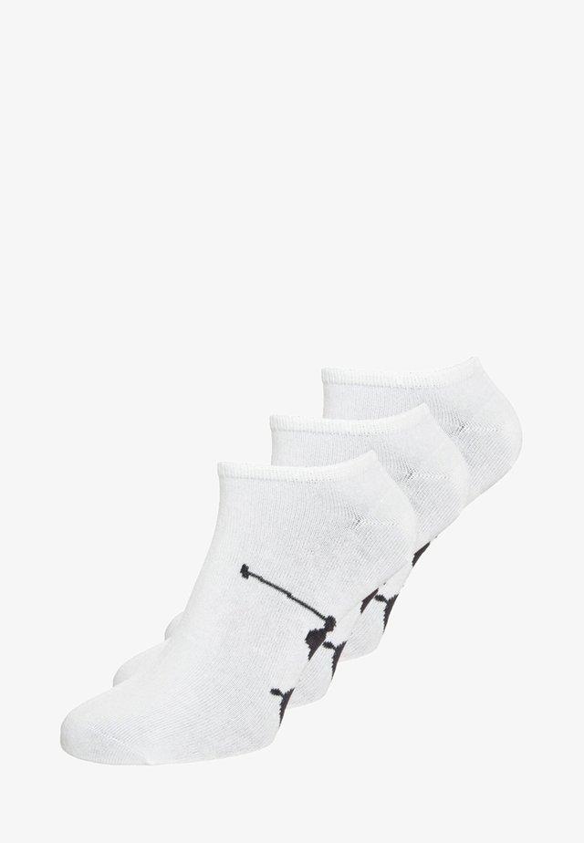 SOLE 3 PACK - Calzini - white