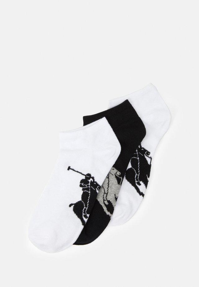 SOLE 3 PACK - Stopki - white