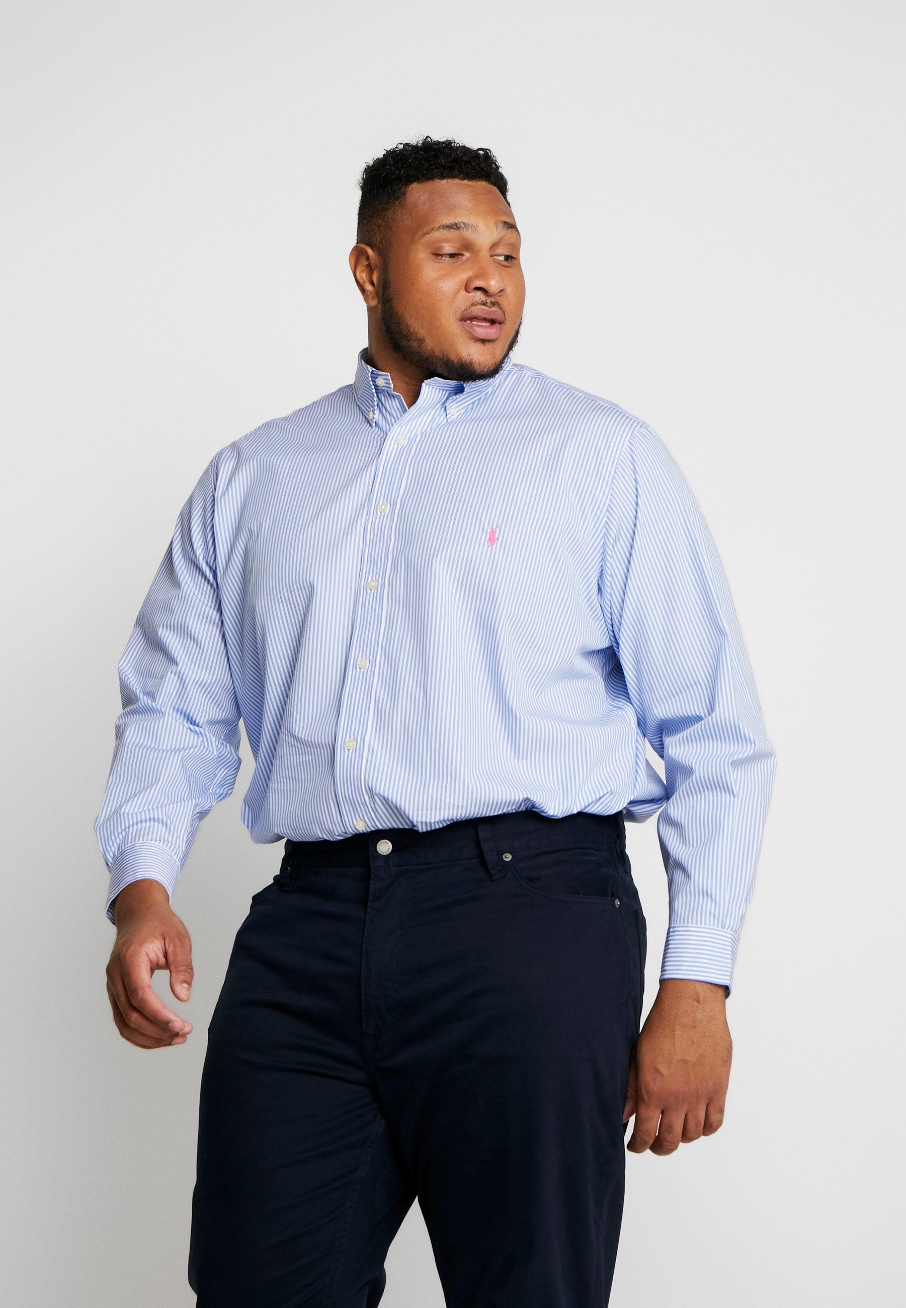 Polo Ralph Lauren Big & Tall NATURAL STRCH - Koszula - light blue