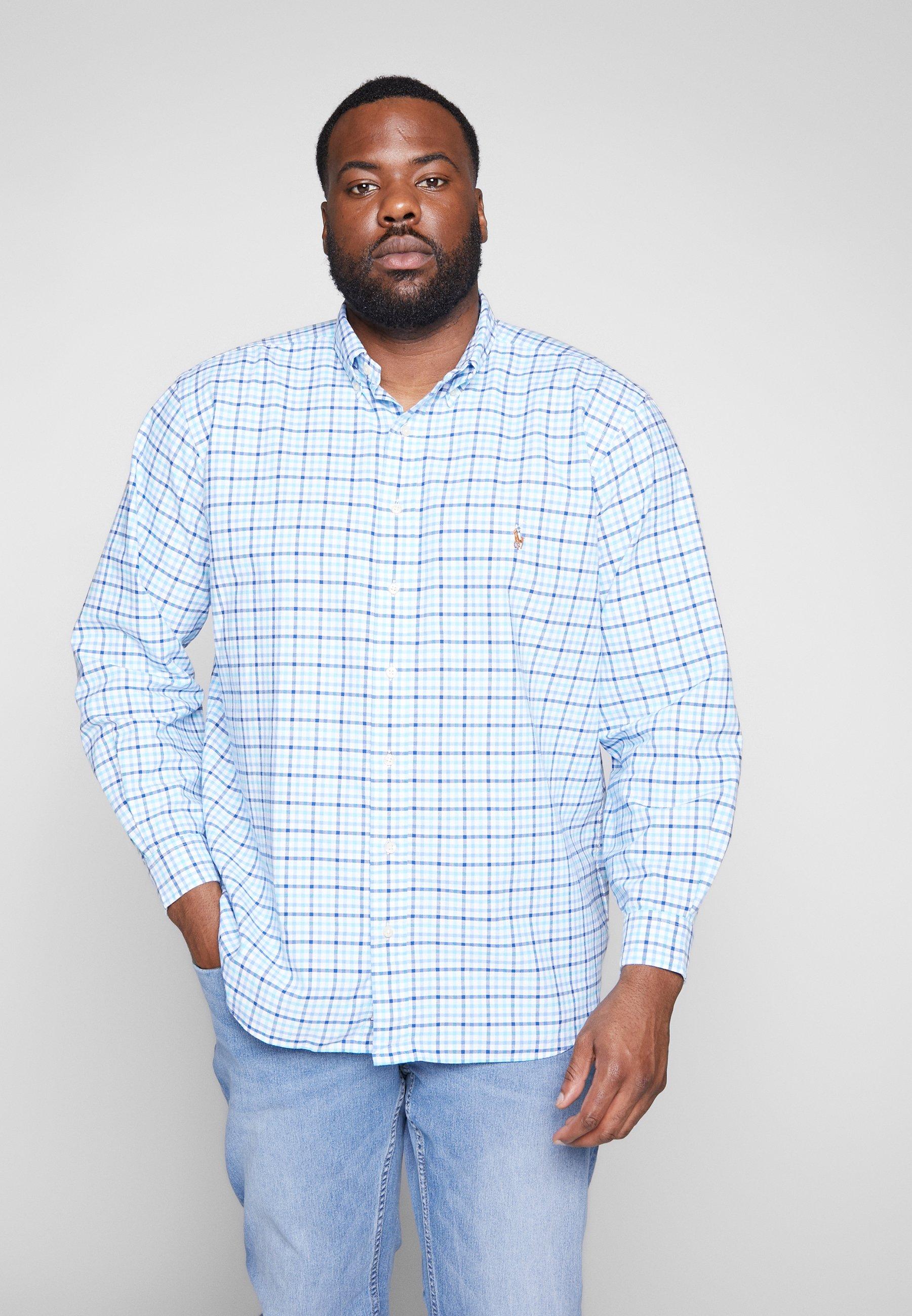 Polo Ralph Lauren Big & Tall OXFORD - Koszula - blue/turquo