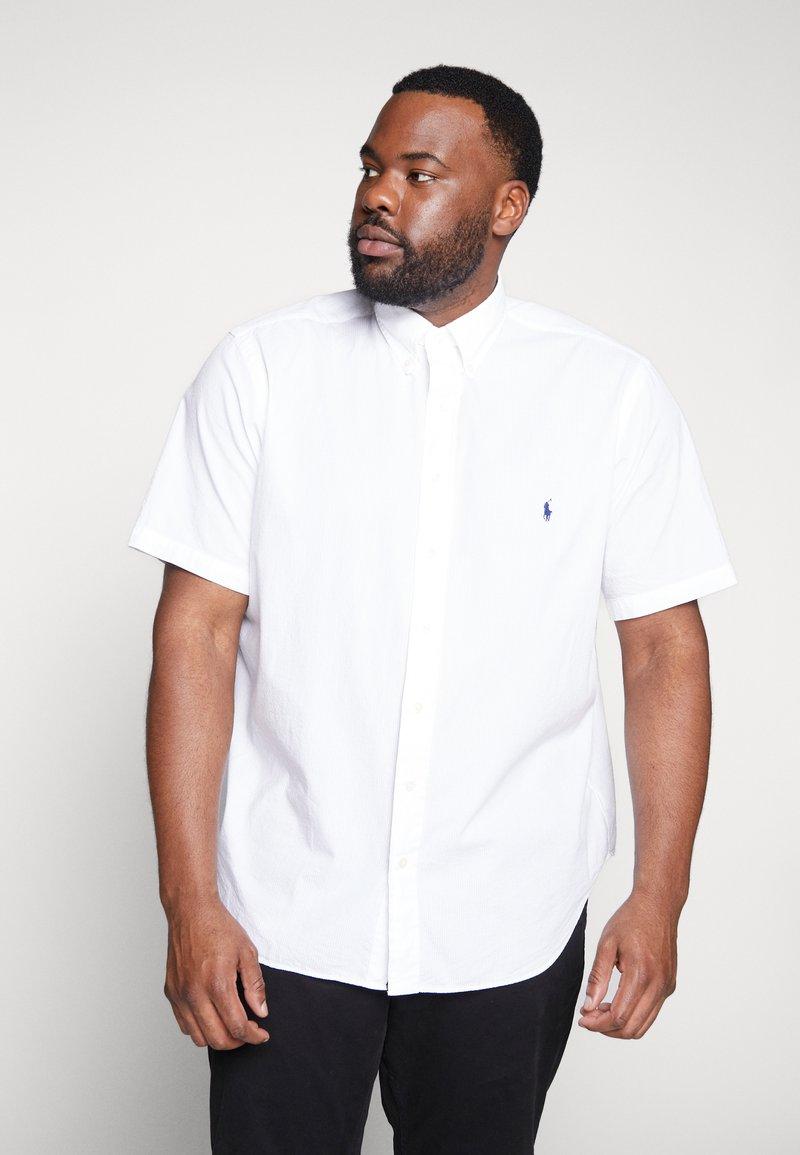 Polo Ralph Lauren Big & Tall - SEERSUCKER - Koszula - white