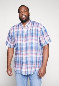 Polo Ralph Lauren Big & Tall - PLAID - Camicia - blue/cherry - 0