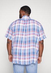 Polo Ralph Lauren Big & Tall - PLAID - Camicia - blue/cherry - 2