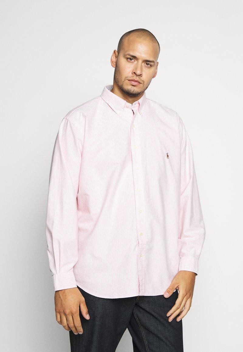 Polo Ralph Lauren Big & Tall - OXFORD - Košile - pink/white
