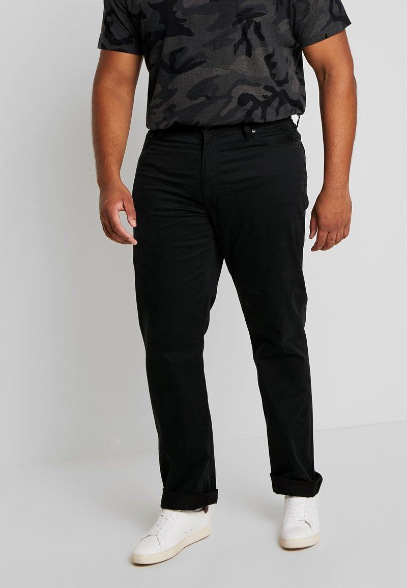 Polo Ralph Lauren Big & Tall - CLASSIC FIT VARICK  - Trousers - polo black