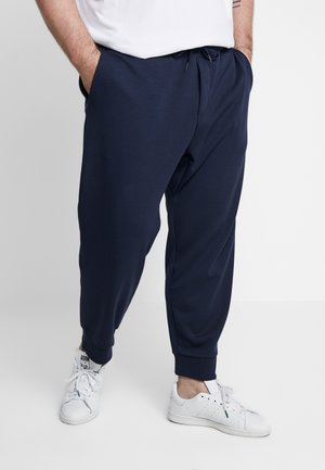 DOUBLE KNIT TECH - Tracksuit bottoms - aviator navy
