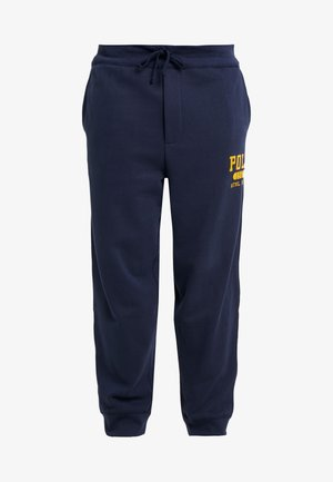 VINTAGE  - Tracksuit bottoms - cruise navy