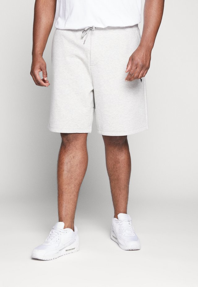 DOUBLE - Pantaloni sportivi - heather