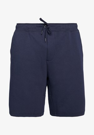 DOUBLE - Tracksuit bottoms - aviator navy