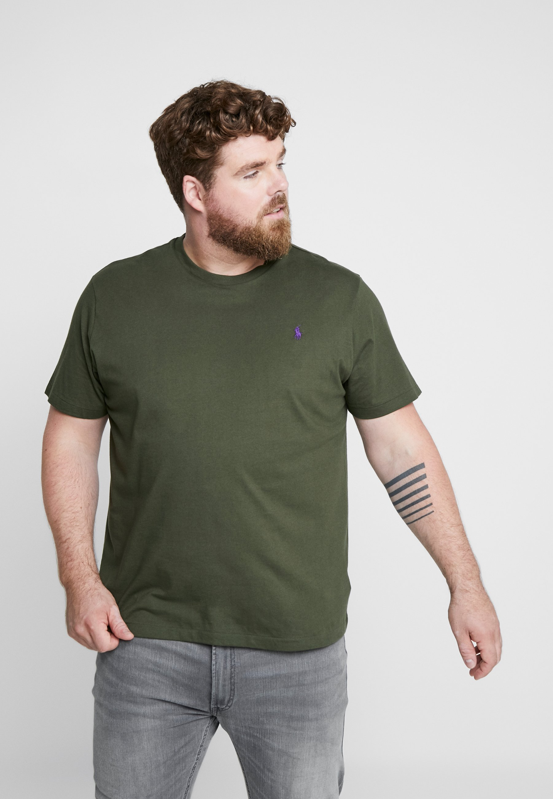 Lauren BasiqueEstate Polo T Bigamp; Tall Ralph shirt Olive 4ALq3RS5cj