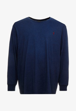 Long sleeved top - monroe blue heath