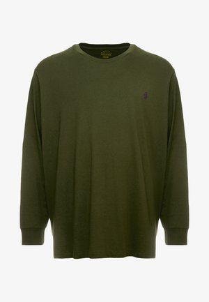 Long sleeved top - estate olive