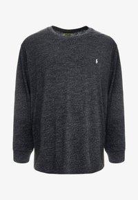 Polo Ralph Lauren Big & Tall - Pitkähihainen paita - black marl heather - 4