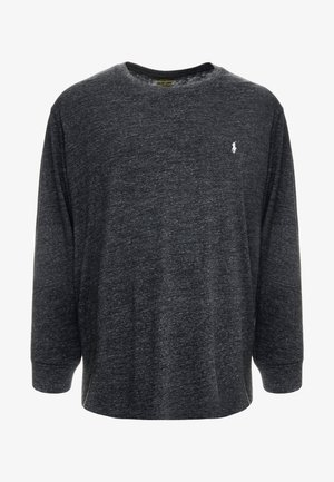 Langarmshirt - black marl heather