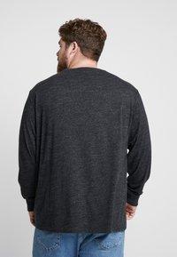 Polo Ralph Lauren Big & Tall - Pitkähihainen paita - black marl heather - 2
