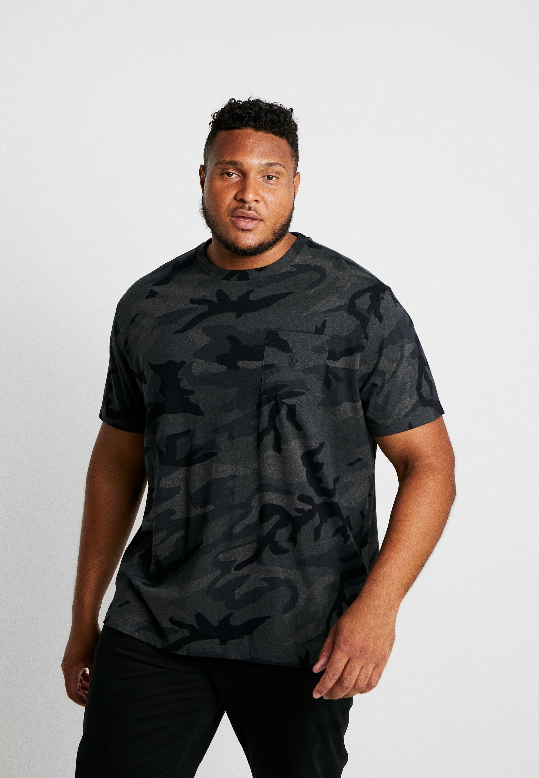 Ralph Lauren Bigamp; T shirt Polo Tall ImpriméCharcoal 6gf7yb