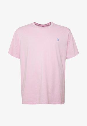 Jednoduché triko - carmel pink
