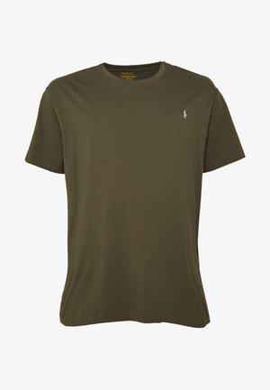 Jednoduché triko - defender green