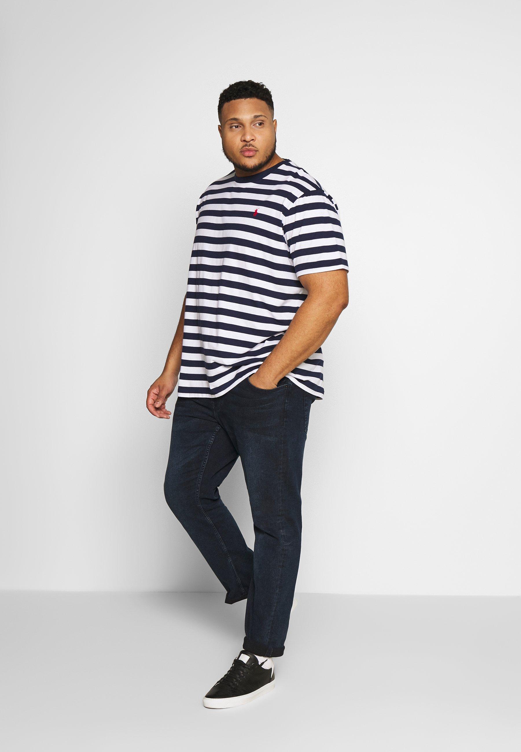 Polo Ralph Lauren Big & Tall T-shirt Med Print - French Navy/white