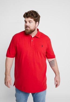 BASIC - Poloskjorter - red