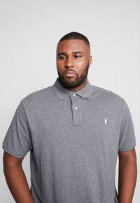 Polo Ralph Lauren Big & Tall - CLASSIC FIT - Poloskjorter - fortress grey heather - 4