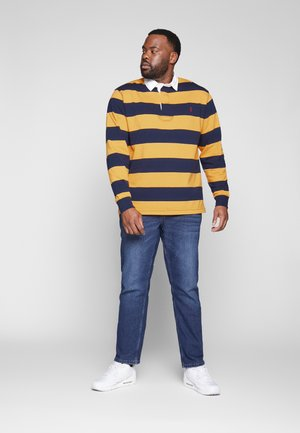 RUSTIC - Polo - french navy/gold