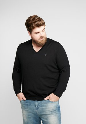 Neule - polo black