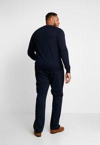 Polo Ralph Lauren Big & Tall - PIMA TIPPING - Sweter - hunter navy - 2
