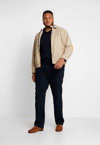 Polo Ralph Lauren Big & Tall - PIMA TIPPING - Sweter - hunter navy - 1
