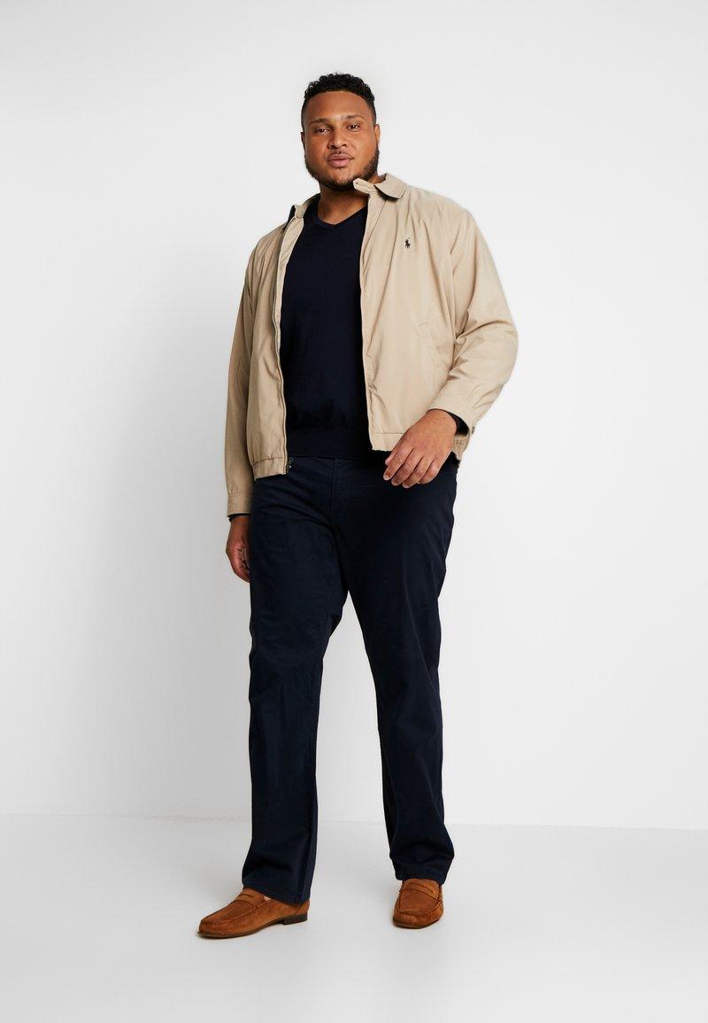 Polo Ralph Lauren Big & Tall PIMA TIPPING - Strikkegenser - hunter navy
