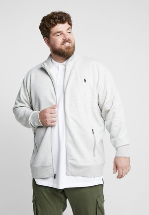 Zip-up hoodie - heather