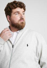 Polo Ralph Lauren Big & Tall - Zip-up hoodie - heather - 3