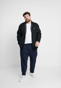 Polo Ralph Lauren Big & Tall - Sweatjacke - black/cream