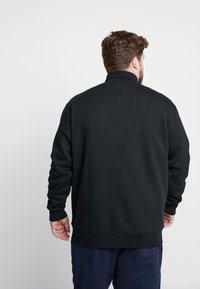 Polo Ralph Lauren Big & Tall - Zip-up hoodie - black/cream