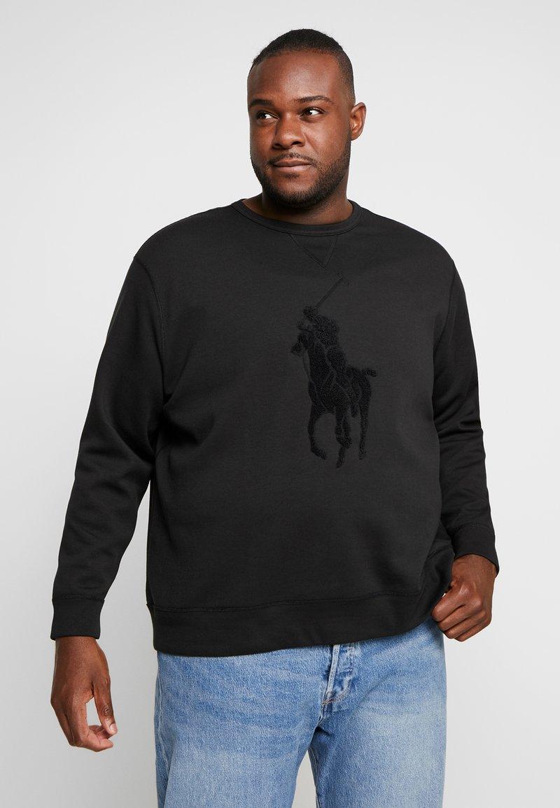 Polo Ralph Lauren Big & Tall - DOUBLE TECH - Camiseta de manga larga - black