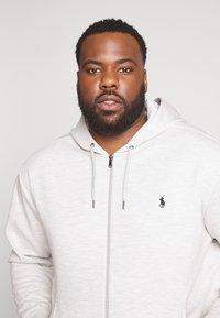 Polo Ralph Lauren Big & Tall - DOUBLE TECH HOOD - Zip-up hoodie - heather - 3
