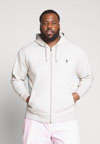 Polo Ralph Lauren Big & Tall - DOUBLE TECH HOOD - Zip-up hoodie - heather - 0